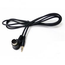 13-pin AUX IN kabel voor Kenwood autoradio's met CA-C1AX, 3,5mm jackplug
