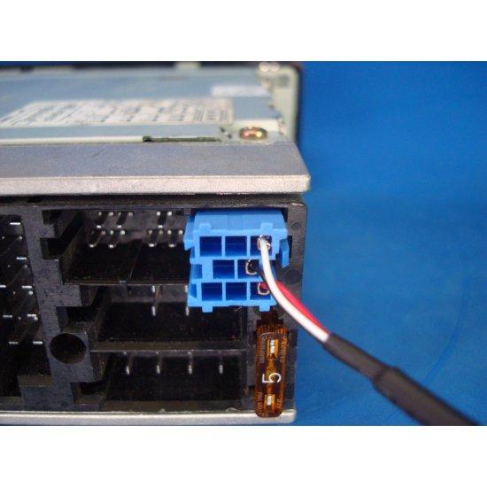8-pin AUX kabel voor o.a. Audi, Skoda, Seat, Volkswagen, Becker, Philips en Blaupunkt