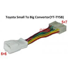 Toyota 6+6 pin naar 5+7 adapter kabel (YT-TYSB)