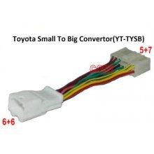 Toyota 6+6 pin naar 5+7 adapter kabel (YT-TYSB)