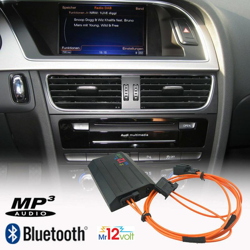 Bluetooth interface / streaming audio adapter voor Audi met MOST MMI 3G (High / Basic / Plus)