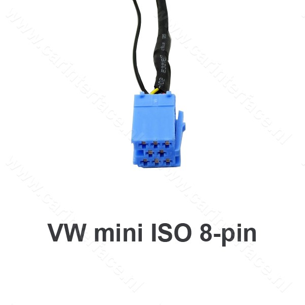 Anycar USB, SD, AUX ingang, MP3 interface adapter voor Volkswagen / VW autoradio's (AL-1080A-VW8)