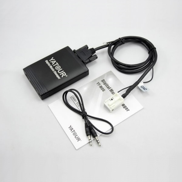 Yatour USB, SD, AUX ingang, MP3 interface / audio adapter voor Audi autoradio's