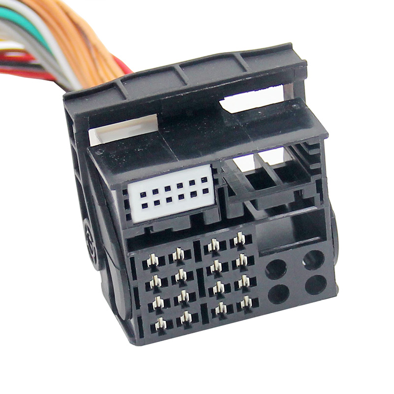 Bluetooth streamen + carkit / USB / AUX interface / audio adapter voor 40-pin BMW autoradio's