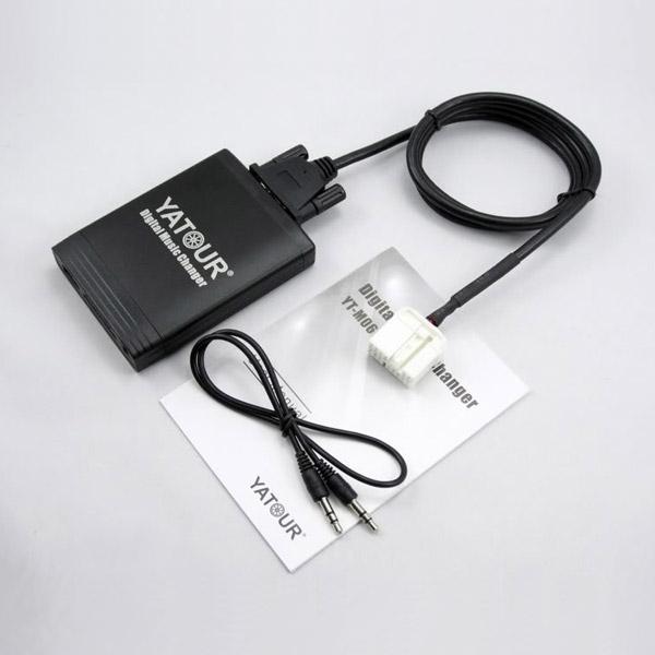 Yatour USB, SD, AUX ingang, MP3 interface / audio adapter voor Honda autoradio's (YTM06-HON2)