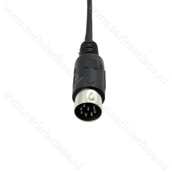 Yatour USB, SD, AUX ingang, MP3 interface / audio adapter voor Hyundai autoradio's (YTM06-HYU8)