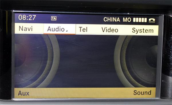 Media Interface 3.5mm AUX kabel / audio adapter voor  Mercedes-Benz