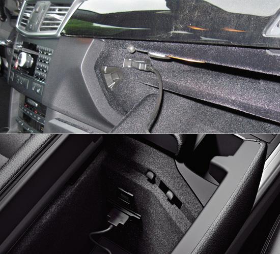 Media Interface USB adapter kabel voor Mercedes-Benz