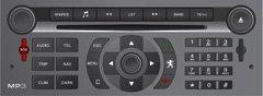 Peugeot Citroen RT4 CAN-BUS Magneti Marelli autoradio