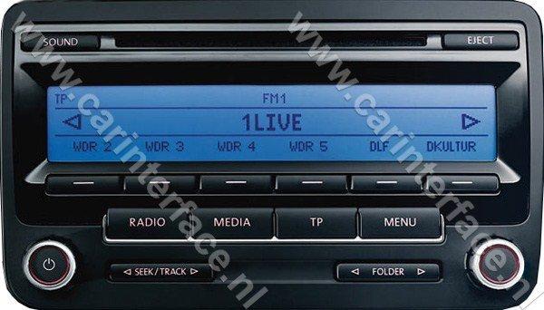 yatour usb sd aux ingang mp interface audio adapter voor volkswagen vw autoradios