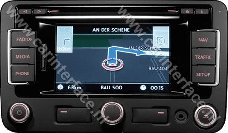 yatour usb sd aux ingang mp interface audio adapter voor volkswagen vw autoradios