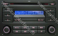 Volkswagen RCD200 MP3