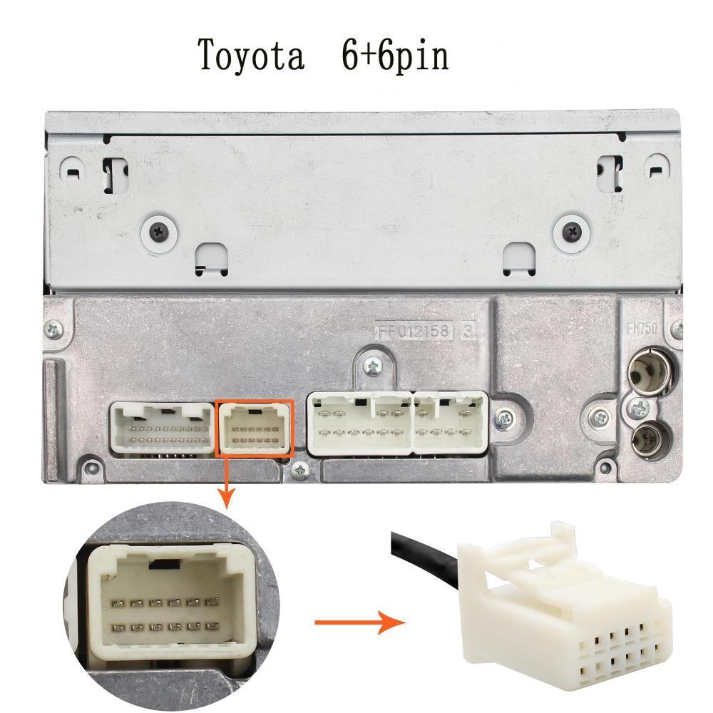 Bluetooth streaming interface / audio adapter voor LEXUS 6+6 pin autoradio's