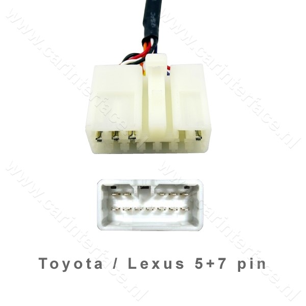 Toyota 5+7 pin Switch Y-kabel (TOY1Y-CDC) NEW-VGA