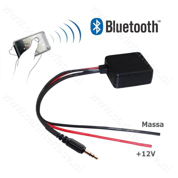 Bluetooth naar 3.5mm AUX-ingang van een autoradio