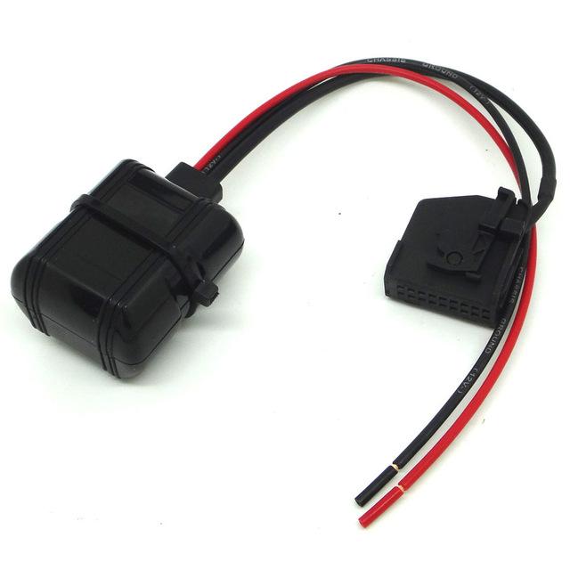 Bluetooth adapter voor RNS2, MFD2 autoradio's van Audi, Ford, Seat, Skoda en VW, 18-pin aansluiting