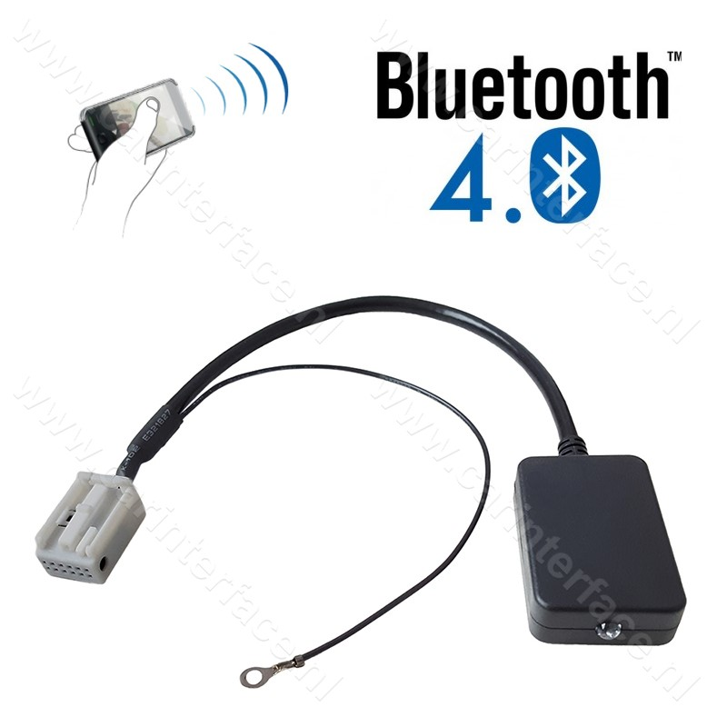 Bluetooth streaming interface / audio adapter voor Audi autoradio's (12-pin)