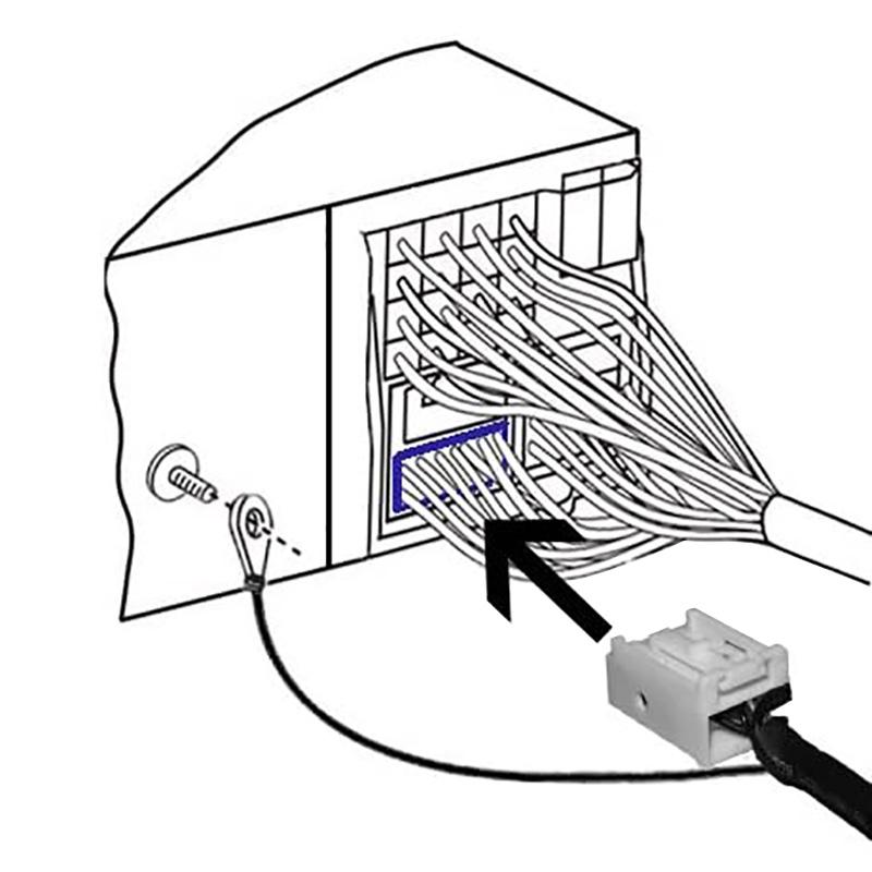 Bluetooth / USB / AUX interface / audio adapter voor VW / Volkswagen autoradio's (12-pin)