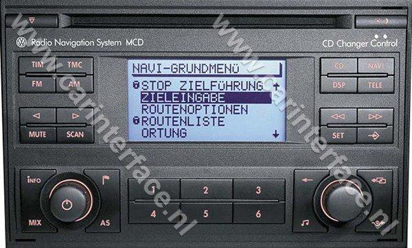 aux  aansluiting interface adapter ingang voor volkswagen autoradios wm vw