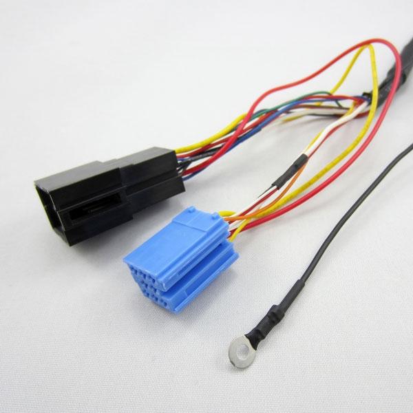 VW8D Y-kabel voor het combineren van 8-pin Yatour met een externe CD-wisselaar
