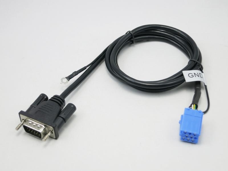VW8 kabel voor Yatour zonder een externe CD-wisselaar