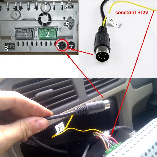 Yatour USB, SD, AUX Ingang, MP3 interface / audio adapter voor Volvo HU autoradio's